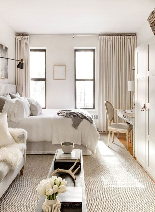 55 Elegant Studio Apartment Decor Ideas That Looks Cute Small Studio Apartment Decorating Apartment Room Apartment Design