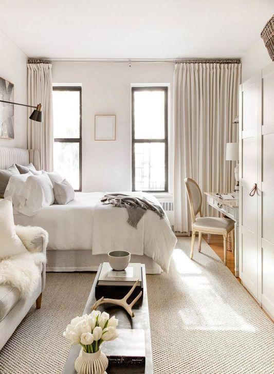 55 Elegant Studio Apartment Decor Ideas That Looks Cute Small Studio Apartment Decorating Apartment Room Apartment Design