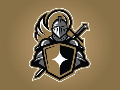 knight american logo sport theme branding amp marks