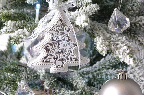 vintage metal tree christmas decoration