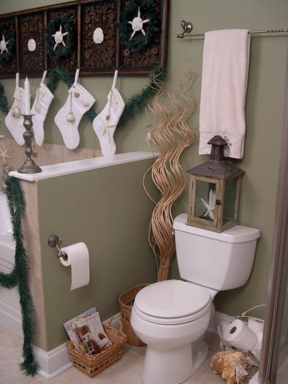 2013 Christmas Bathroom Decor Top 9 Ways To Decorate Your Bathroom See More At Loveitsomuch