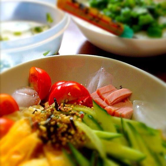 夏の料理の中で1番好きかもしれない笑 - 43件のもぐもぐ - 夏限定冷やし中華☆ by woddylgm3tf