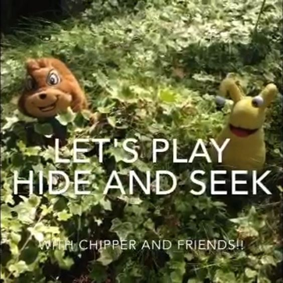 Get outdoors and play some hide N seek with the kiddos!