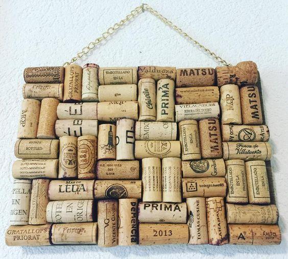 Recyclage et créativité avec les bouchons de liège ! ... Ne jetez plus les bouchons de vos bouteilles de vin!