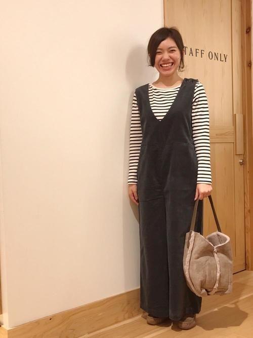coen つきだて coen general store仙台パルコ2店 coenのモカシン デッキシューズを使ったコーディネート wear デッキシューズ ファッション モカシン