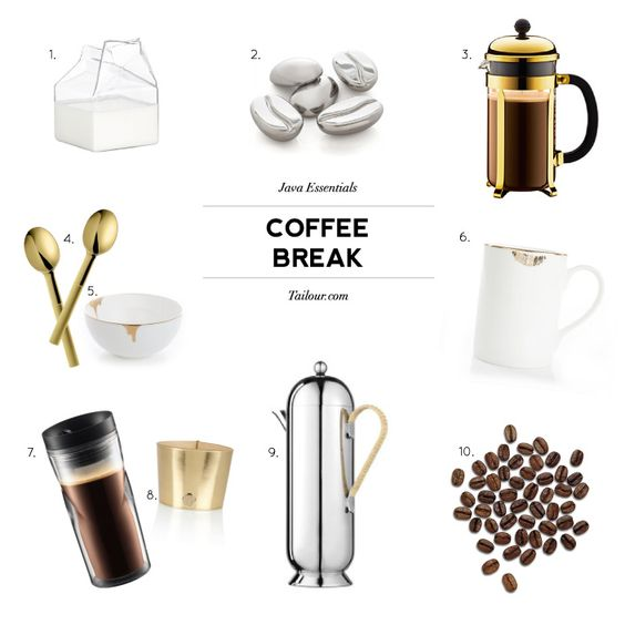 Tailour: Coffee Break Tools of the Trade