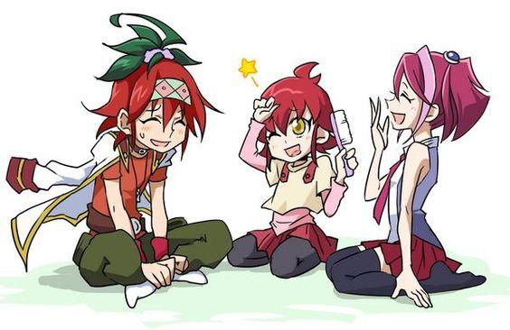 Yuya, Ayu and Yuzu