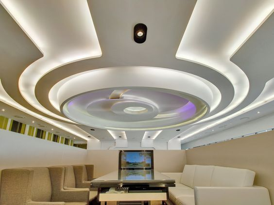 40 Latest Gypsum Board False Ceiling Designs With Led Lighting