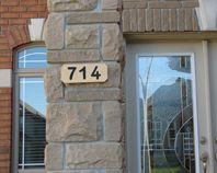 Hacer una placa para un número de dirección