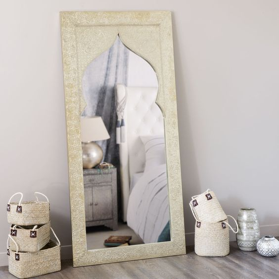 miroir latipur maisons du monde my room pinterest recycled wood wood mirror and woods
