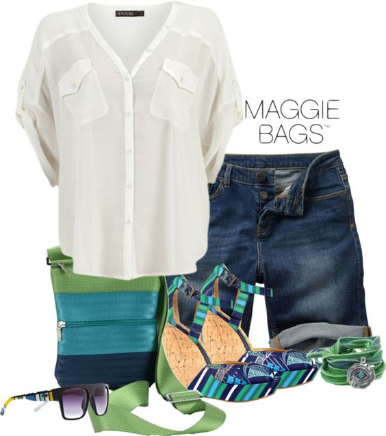 """""""The Superstar of Summer:Maggie Bags Bailey Bag"""" by kimlyns ❤ liked on Polyvore"""