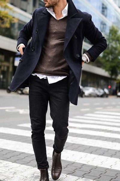 Pin di Alessandro Chiodi su Moda uomo inverno | Moda