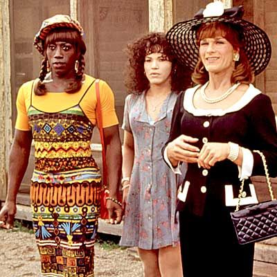 FAVORITE MOVIE OF ALL TIME! Patrick Swayze, Wesley Snipes, and John Legizamo as drag queens conquering the world fabulously! Nuff Said!