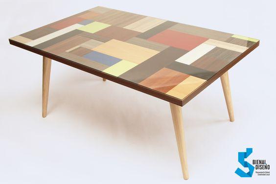 Melamina en el innovador diseño de Pablo Llanquin de Masisa