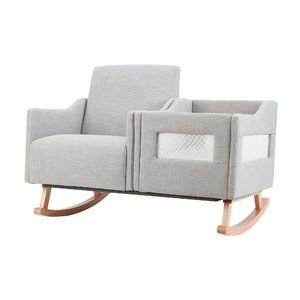 Wondrous Karla Dubois Emerson Nursing Rocker And Bassinet Home Pdpeps Interior Chair Design Pdpepsorg