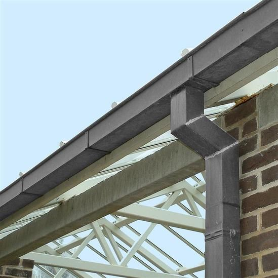 Zinc Box Gutter 65x90mm Box Gutter Gutter Roof Cladding