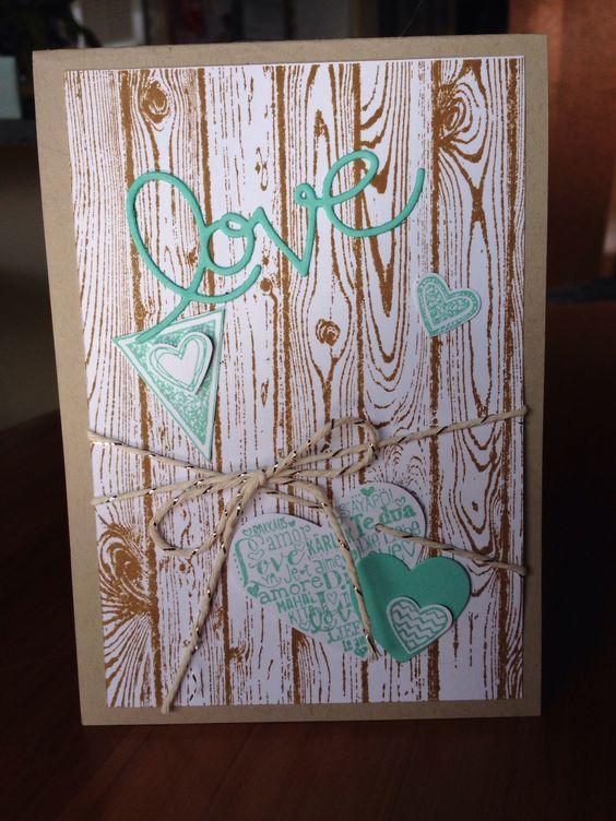 Adrian and Serene anniversary card