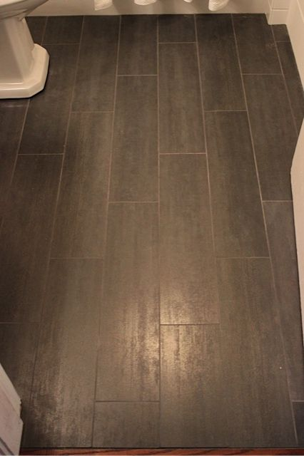 The Floor Tile Is Sant u0026 39 Agostino Porcelain Tile  Color Is Ferro. Price Of Bathroom Floor Tiles   Rukinet com