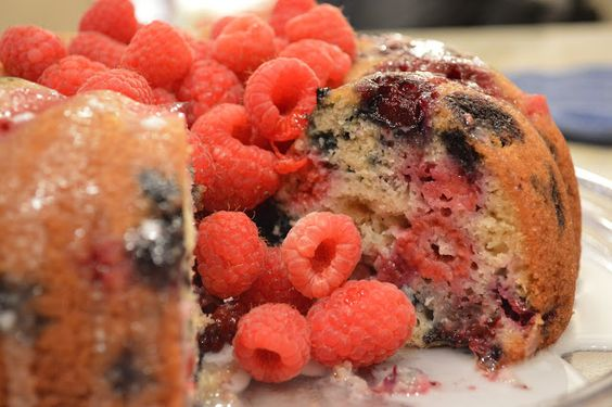 Very Berry Buttermilk Bundt Cake | Berries, Bundt Cakes and In Time