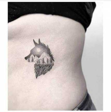 46 Ideas Tattoo Wolf Small Wild Animals Wolf Tattoos For Women Small Wolf Tattoo Wolf Tattoo Design