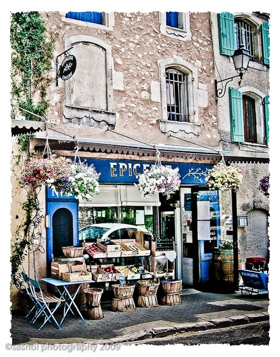 Fruit Stand in Provence