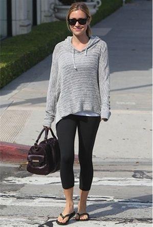 LnA crepe hoodie - As seen on Kristin Cavallari http://bit.ly/Ad2Mvg