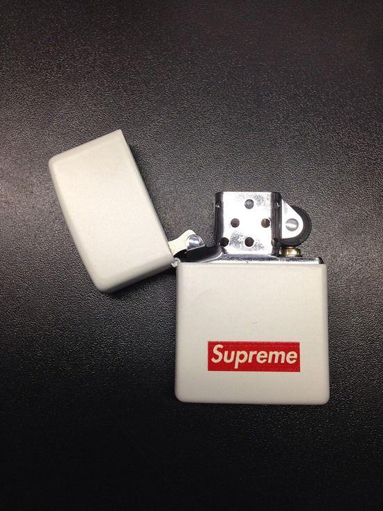 Zippo & Supreme #lighter #smoke #gadgets