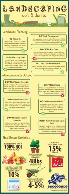 Landscaping Do's and Don'ts