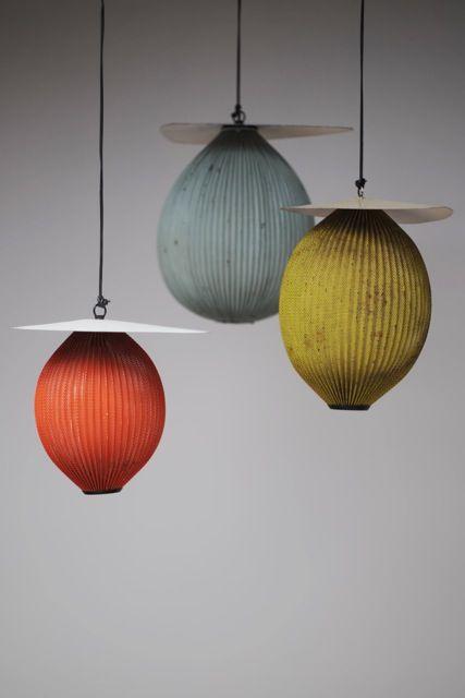 just wonderful lights by Mathieu Matégot, designer in the 50s