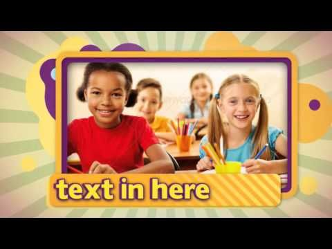 Kids Photo Slideshow After Effects Project Files Videohive 13139675 Youtube Kids Photos Photo Slideshow After Effects Projects