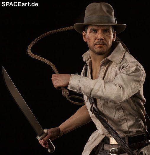 Indiana Jones 2: Indiana Jones, Voll bewegliche Deluxe-Figur ... http://spaceart.de/produkte/idj004.php