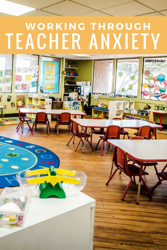 Working Through Teacher Anxiety. Some things to help calm your nerves as a teacher.