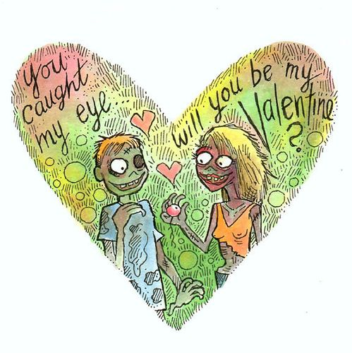 You Caught My Eye (Zombie Valentine #1):