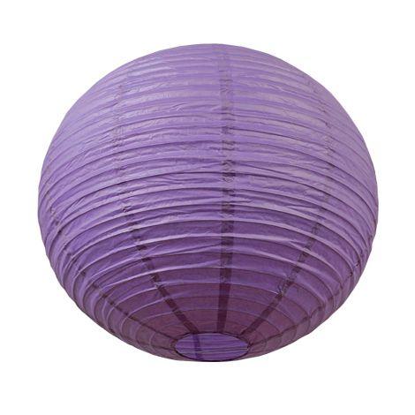 Lanterne chinoise - 50cm - Mauve poudré