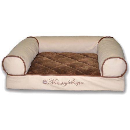 K Memory Foam Cozy Sofa, Beige