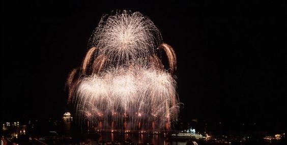 International Competition of musical fireworks of Monaco - Mairie de Monaco