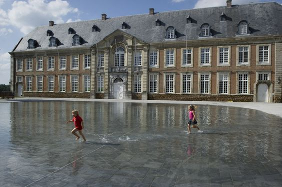 Averbode Abbey Square by OMGEVING
