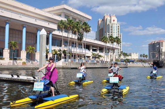 13 epic outdoorsy things to do in Florida: #3. Ride a bike on Tampa Bay.