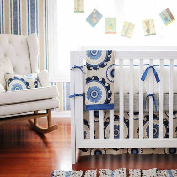 Brooklyn Blue Baby Bedding