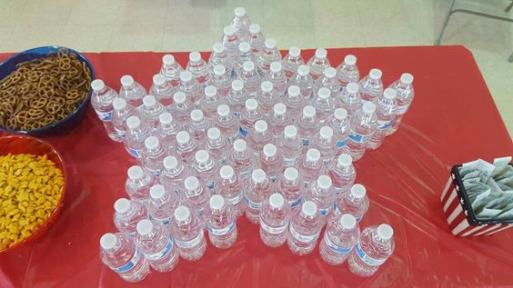 Water bottles for Eagle Court of Honor