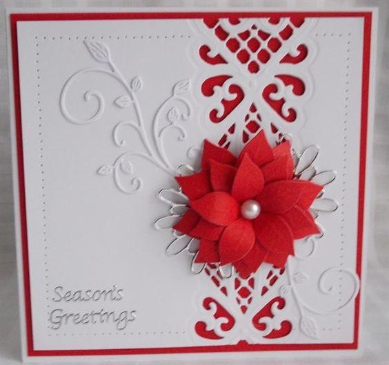 7/25/14.  snoflake christmas challenge 2014 weeks 19 - 23 | docrafts.com (multiple cards)
