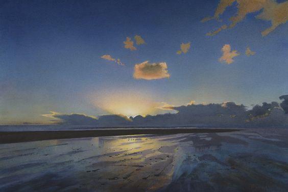 Winter Sky, Saunton Sands Bob Rudd:
