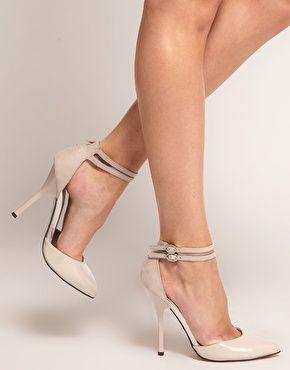 Zapatos de punta con tacón PRIOR de ASOS