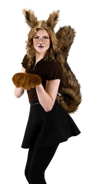 Oversized Squirrel Costume Accessories - Animal Ears Noses & Tails - SHOP COSTUME ACCESSORIES - Costumes Wigs Theater Makeup and Accessories