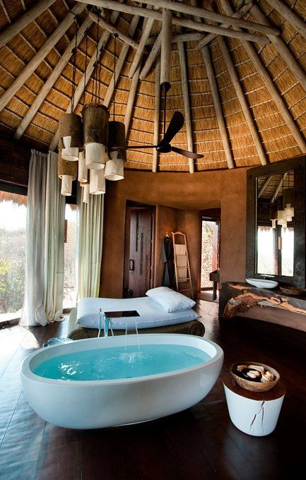 Leobo Private Reserve,  South Africa designed by  Silvio Rech and Lesley Carstens Architects