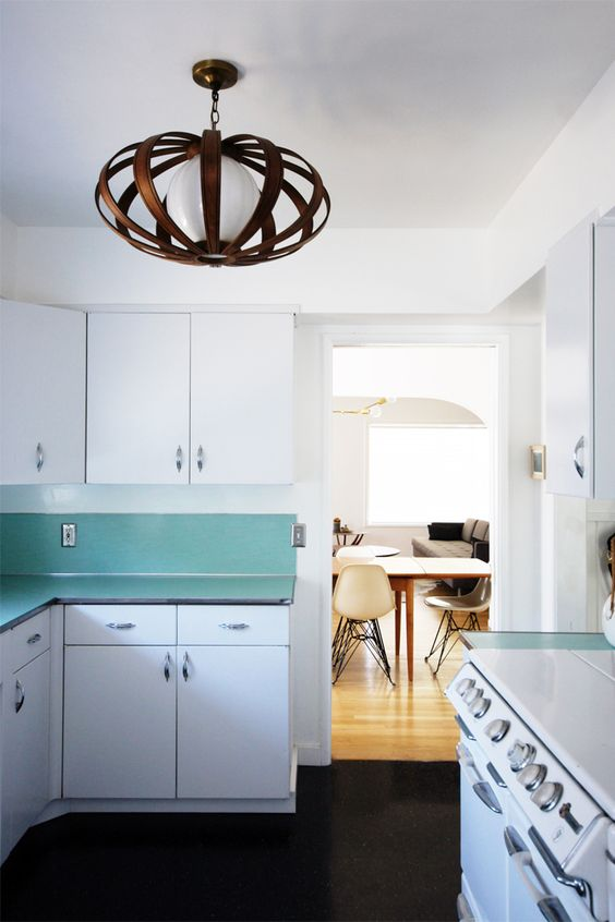 I continue to covet this light fixture @Morgan Satterfield's http://www.the-brick-house.com/tour/kitchen