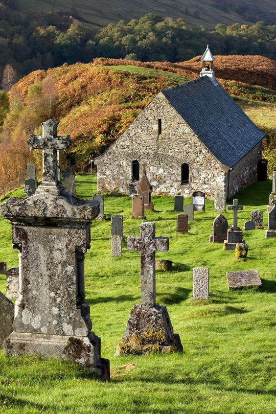 Cille Choiril. An ancient church and graveyard in the Scottish Highlands