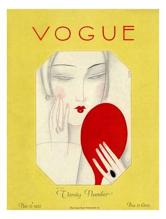 Vogue Cover - November 1925  Eduardo Garcia Benito