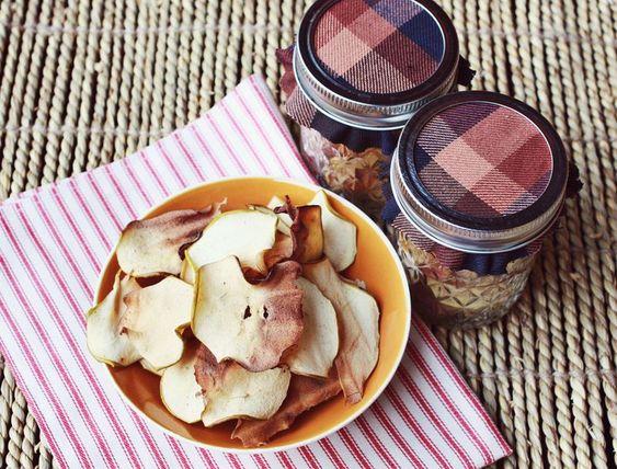 Homemade apple chips!