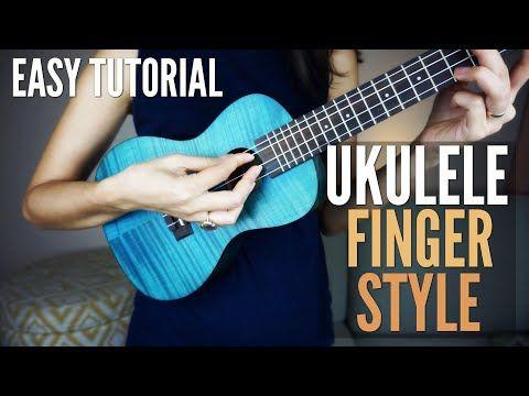 How To Play Fingerstyle On Ukulele Easy Fingerpicking Tutorial Lesson 2 Youtube Ukulele Lesson Ukulele Ukulele Tutorial